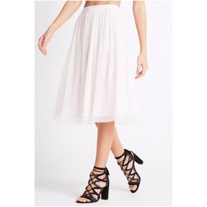 Bcbgeneration pleated midi skirt